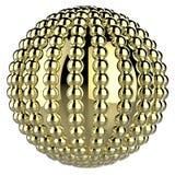 guld- boll stock illustrationer