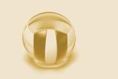 Guld- bollabstrakt begreppbakgrund Arkivbilder