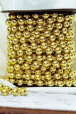 guld- bollar Royaltyfri Bild
