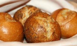 guld- bröd Arkivfoton