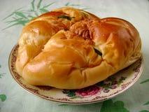 Guld- bröd Royaltyfria Foton