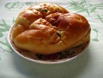 Guld- bröd Arkivfoto