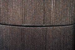 Guld- brun linje tygtextur Royaltyfria Bilder
