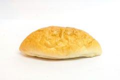 Guld- brunt ovalt bröd Arkivbild