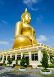 Guld Buddha Royaltyfria Foton