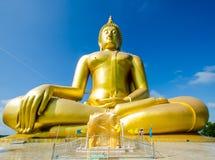 Guld Buddha Royaltyfri Fotografi