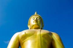 Guld Buddha Arkivfoto
