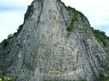 Guld- Buddha. Royaltyfri Fotografi