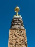 Guld- Buddha. Arkivbilder