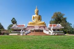 guld- buddha Royaltyfria Bilder