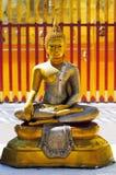guld- buddha Royaltyfri Foto