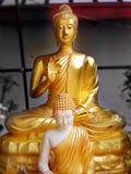 guld- buddha Royaltyfri Fotografi