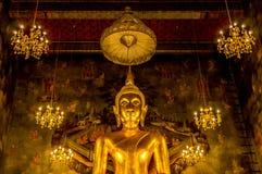 guld- buddha Royaltyfria Foton