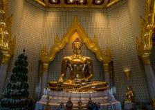 Guld- Buddha, Bangkok, Thailand Royaltyfri Foto