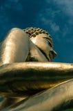 guld- buddha jätte Royaltyfri Bild