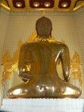 Guld- Buddha, Wat Traimit tempel, Bangkok, Thailand Arkivfoto