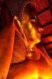 Guld- Buddhabild Fotografering för Bildbyråer
