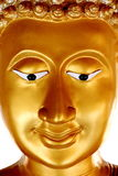 Guld- Buddhaframsida Royaltyfri Bild