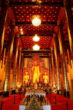 Guld- Buddhastaty Arkivbilder