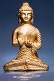guld- budha Royaltyfri Bild