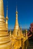 Guld- chedis framme av blå himmel Royaltyfri Fotografi