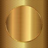 Guld- cirkel Arkivfoton