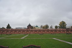 guld- cirkel russia Fotografering för Bildbyråer