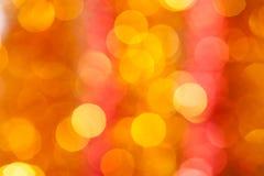 Guld- cirkelbakgrund Arkivfoto
