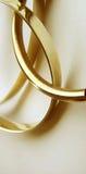 guld- cirklar Arkivfoton
