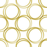 guld- cirklar Royaltyfria Bilder