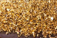 guld- cirklar Arkivbild