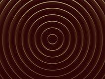 guld- cirklar Abstrakt bakgrund avbildar Arkivbilder