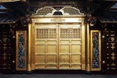 guld- dörr Arkivbilder