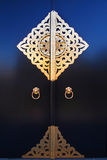 guld- dörr Arkivfoto