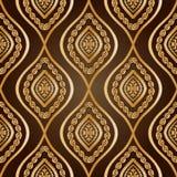 Guld- damast Arkivbild