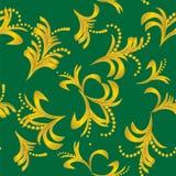 Guld- dekorativ bakgrund Arkivbilder