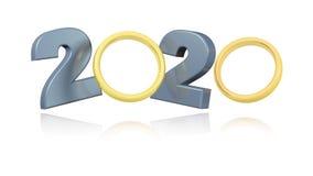 Guld- design för vigselringar 2020 i oändlig rotation