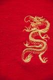 Guld- drake Arkivfoto