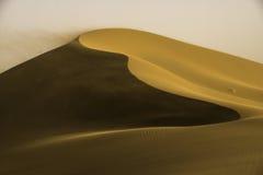 Guld- dyn Arkivfoton