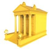 Guld- ekonomisk institution Royaltyfria Foton