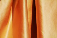 Guld- eleganta veck, bakgrund Arkivfoto