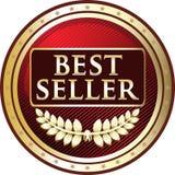 Guld- etikettsymbol för bästa säljare Royaltyfri Bild