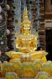 Guld- färg för Buddha royaltyfria foton
