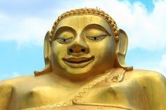 Guld- färg för munk Arkivbild