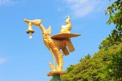 Guld- fågel Arkivbilder