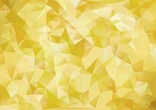 Guld för japansk stil för kubismbakgrund Arkivfoton