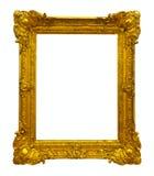 Guld- föreställa inramar banan Royaltyfri Bild