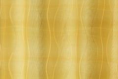 Guld- förhänge Arkivbild