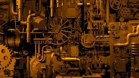 Guld- fabrik Fotografering för Bildbyråer