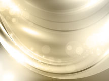 Guld- feriebakgrund Arkivfoton